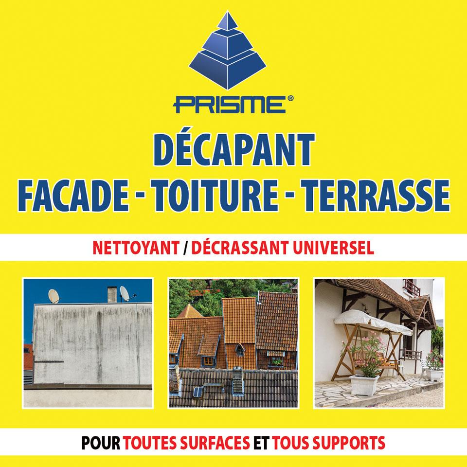 Decaper Une Terrasse prisme pro - decapant facades-toitures-terrasses
